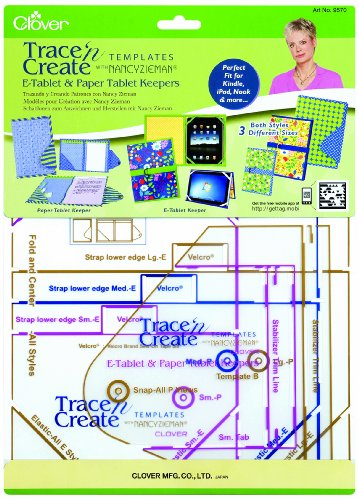 Clover Create E Tablet Keepers Template