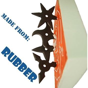 Amazon Com Throwing Star Foam Board For Ninja Rubber