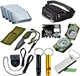 Outdoor Emergency Survival Camping Kit, Includes Tanto Knife - Best Reviews Guide