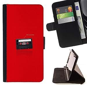 Momo Phone Case / Flip Funda de Cuero Case Cover - Funny I'M Your Father Cassette - LG G3