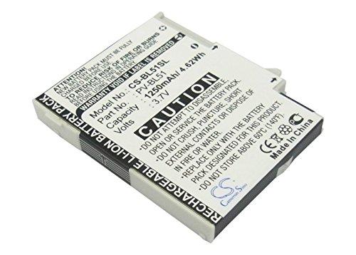 Replacement Battery for Sharp EM-One S01SHT-MOBILE 2009 PV300 Sidekick LX Sharp - Lx Sharp Sidekick