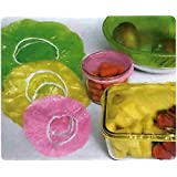 Set of 96 Re Usable Colorful Food Storage Covers