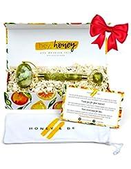 Jade Roller for Face Premium Massage Tool - Natural...