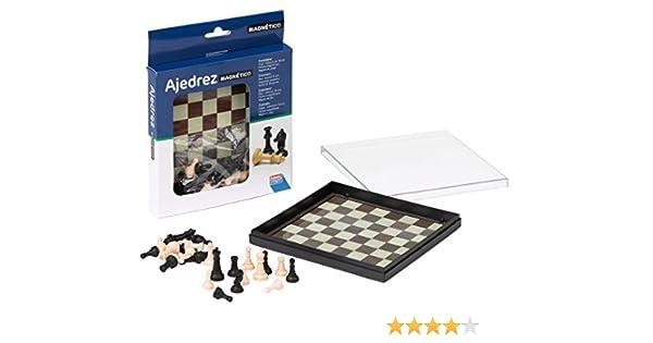 Falomir Ajedrez Magnético, Juego de Mesa, Clásicos, 16 x 16 cm (27901): Amazon.es: Juguetes y juegos