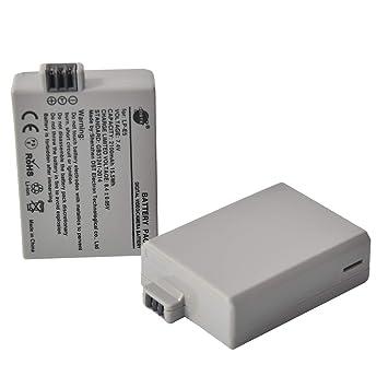 DSTE 2 Piezas de Recambio de bateria LP-E5 Compatible con ...
