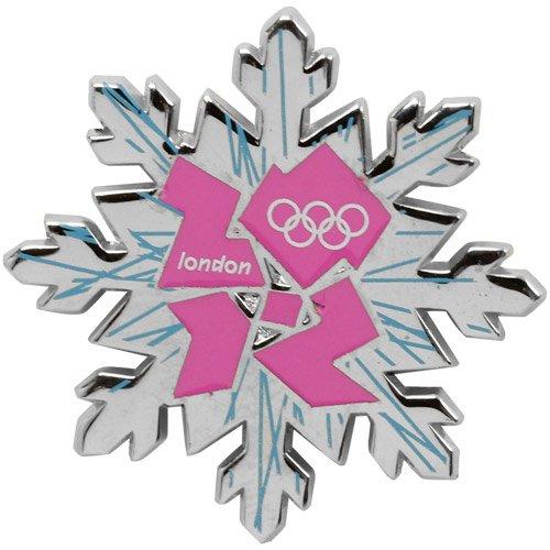 Olympics London 2012 Snowflake Pin