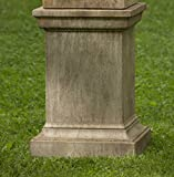 Campania International PD-192-VE Greenwich Pedestal, Verde Finish