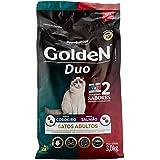 Premier Pet, Ração Golden Duo para Gatos Adultos Sabor Cordeiro e Salmão, 3kg