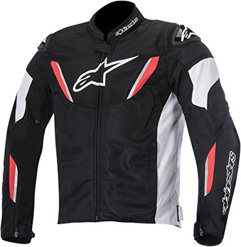 Alpinestars T-GP R Air Textile Men's Riding Jacket (Black/White/Red, Medium)