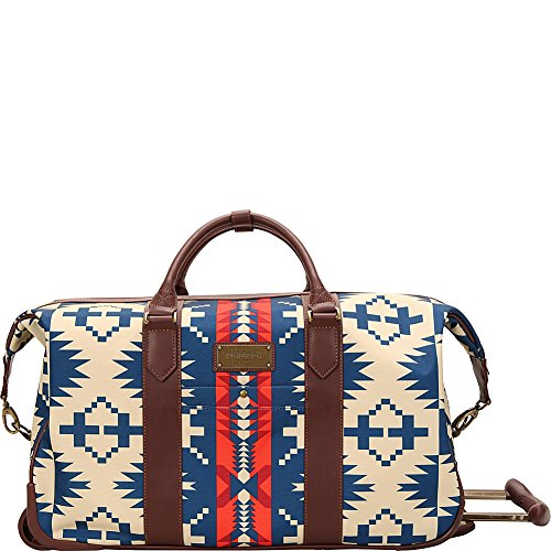 Pendleton Spider Rock 22'' 2W Rolling Duffel - Navy by Pendleton