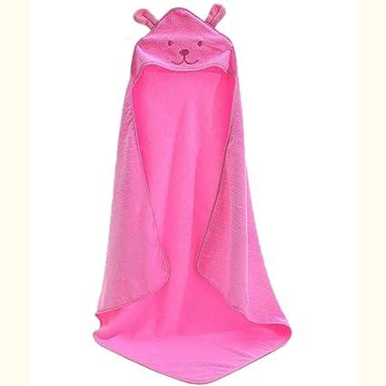 c3bd23b971 Elaiya Baby Kids Home Natural Cotton Hooded Bath Towels Wrap Robe Cloak -  Soft