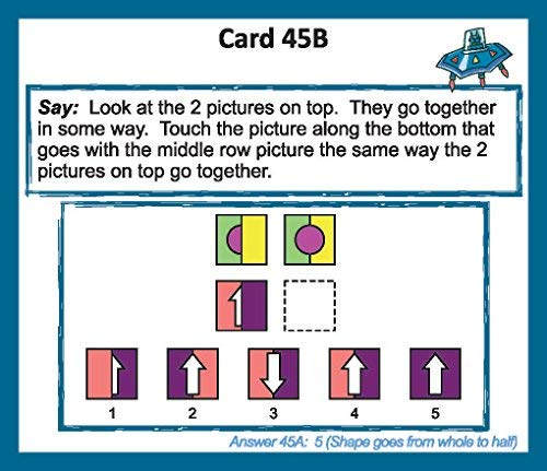 Gifted Learning Flash Cards Bundle - Kindergarten-in-A-Box - Math Concepts, Thinking & Problem Solving, Working Memory, Following Directions (Set 1) by TestingMom.com (Image #5)