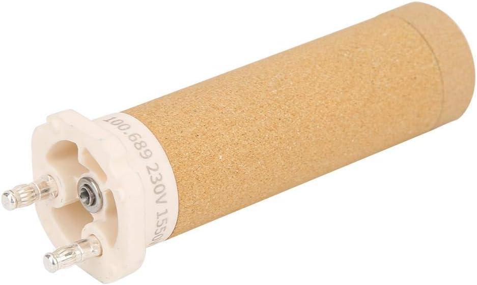 Elemento calefactor de pistola de soldadura Pistola de aire caliente de alta resistencia Núcleo de calefacción de cerámica para antorcha de soldador 230V 1550W