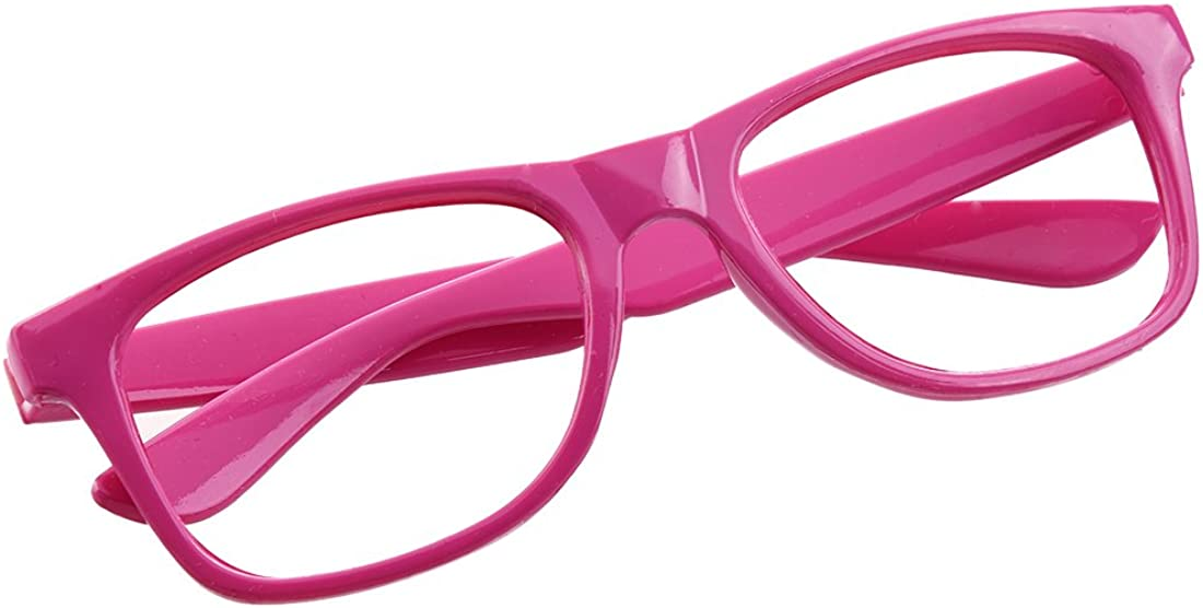 SODIAL Fashion Kids Children/'s Lens-Less Party Glasses pink One Size R 049383A3 Black