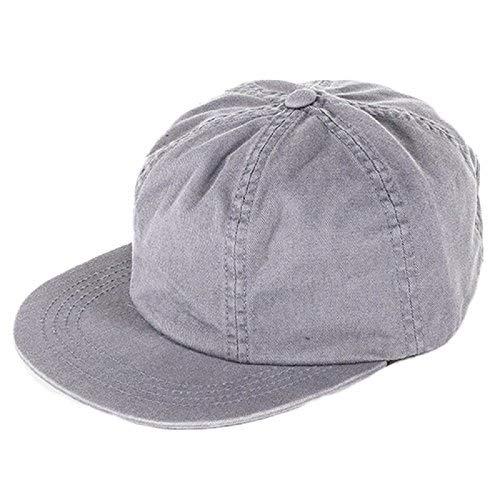 Brixton Hats Lakewood Adjustable Baseball Cap - Grey  Amazon.co.uk  Clothing 90fbda0a176