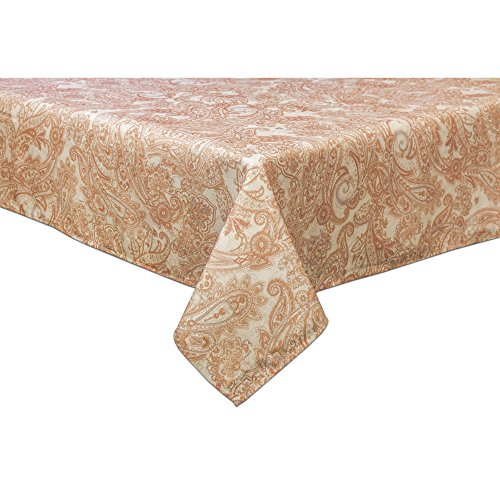 "Tommy Bahama East India Paisley 60""X102"" Oblong Tablecloth"
