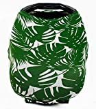 Car seat Canopy Nursing Cover - Multi use Baby Stroller and carseat Cover, Breastfeeding Nursing Covers, Boys and Girls Shower Gifts (Palm Beach)