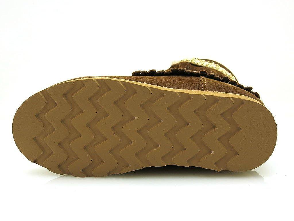 Dolfie - Botas de Piel para Niña, Color, Talla 30: Amazon.es: Zapatos y complementos