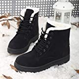 The winter snow boots and a couple of lovers cashmere thermal boots boots casual shoes size coltsfoot lovers,G 35 black