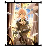 Violet Evergarden Anime Fabric Wall Scroll Poster (32x41) Inches