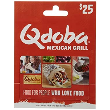 Qdoba Mexican Grill Gift Card $25