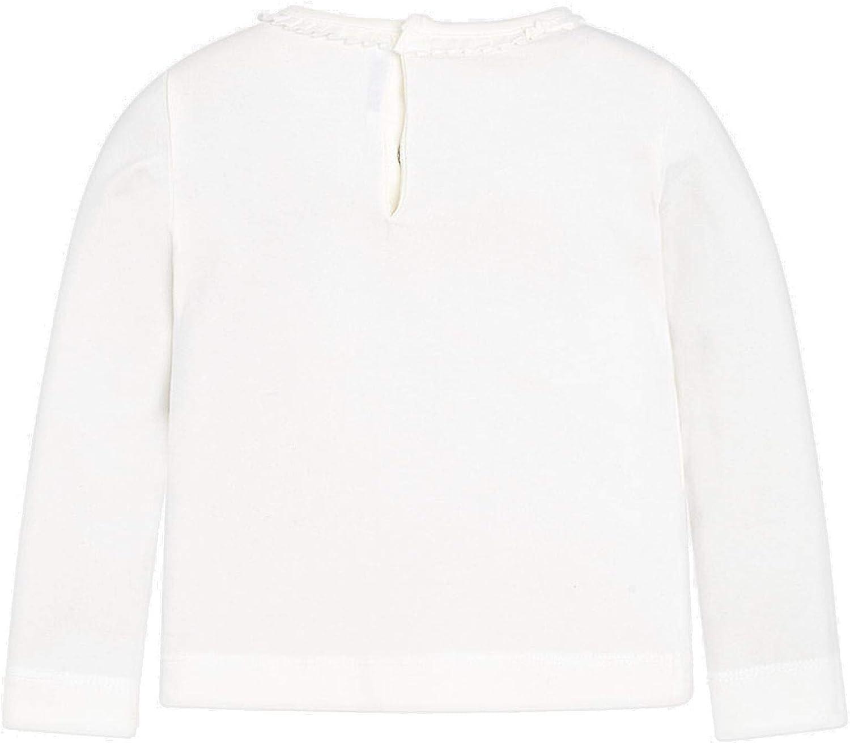 dunkelblau Mayoral 4.046 M/ädchen Shirt mit Langen Armen