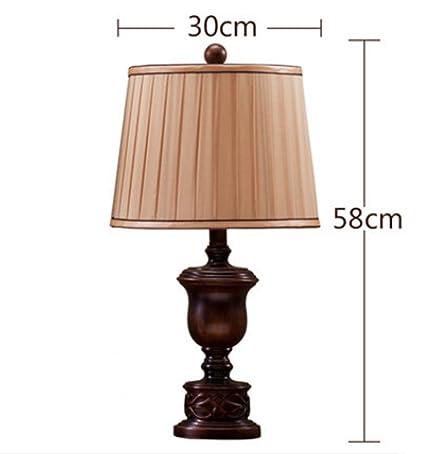 Amazon.com: DMMSS Lámpara de mesa para el campo, dormitorio ...
