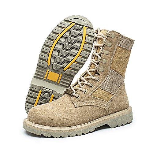Karkein Militaire Tactische Laarzen Leger Combat Jungle Laarzen Lace Up Woestijn Martin Laarzen Voor Vrouwen En Mannen Zand