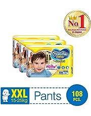 MamyPoko Standard Pants, XXL, Case, 108ct