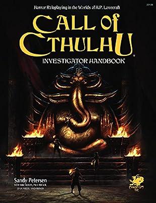 INVESTIGATORS HANDBK 7/E Call of Cthulhu Roleplaying: Amazon.es: Petersen, Sandy: Libros en idiomas extranjeros
