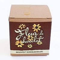 """Geschenk-Anzuchtset""""Fleur de chocolat"""" - Schokoladenblume"""