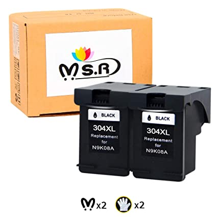 MSR 304XL - Cartuchos de tinta remanufacturados para HP 304 304XL ...