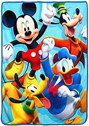 """Disney's Mickey's Roadster Racers, """"4 Ever"""" Micro Raschel Throw Blanket, 46&q"""