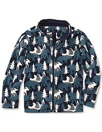 Baby and Little Boys Full Front Zip Fleece Jacket