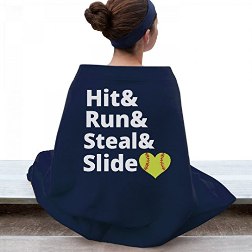 Hit Run Steal Slide: Gildan Dryblend Stadium Blanket