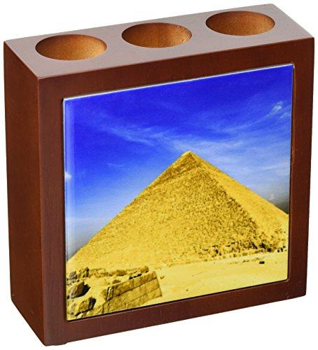 3dRose ph_71646_1 Great Pyramid of Giza, Khufu, Cheops, Cairo, Egypt-AF14AJE0019-Adam Jones-Tile Pen Holder, 5-Inch (Khufu Pyramid Giza)