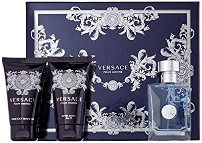 Versace Pour Homme By Versace for Men Gift Set