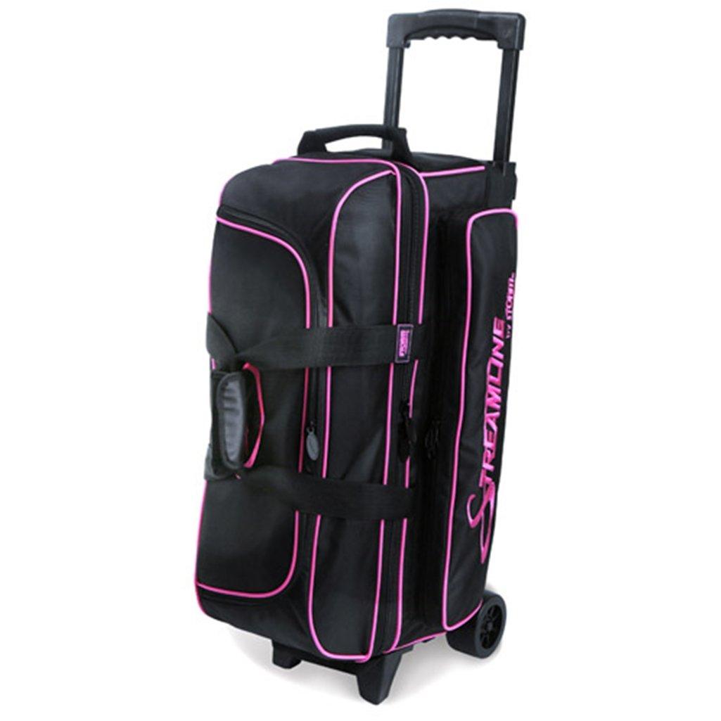 Storm Streamline 3 Ball Roller Bowling Bag Black/Pink