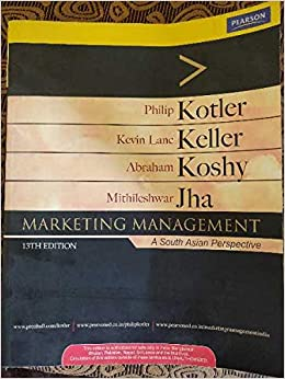 Amazon In Buy Marketing Management Philip Kotler Kevin Lane Keller