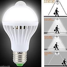 Dovewill 110V Voltage High Luminous Efficiency LED PIR Motion Sensor Energy Saving Home Bar Office Use Lamp Bulb White