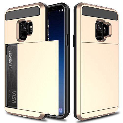 USHAWN Samsung Galaxy S9 Case, Impact Resistant...