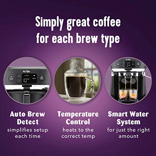 Mr. Coffee All-in- One Occasions Specialty Pods Coffee Maker, 10-Cup Thermal Carafe, and ...