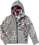 Desigual Little Girls' Ditzy Floral Zip-Up Sweatshirt