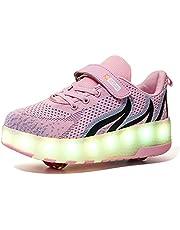 Jongens En Meisjes USB Switch Rolschaatsen LED-Sneakers Voor Kinderen