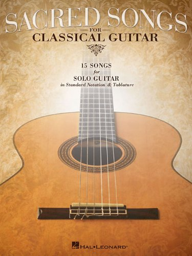 Sacred Songs For Classical Guitar (Standard Notation & Tab) Photo #1