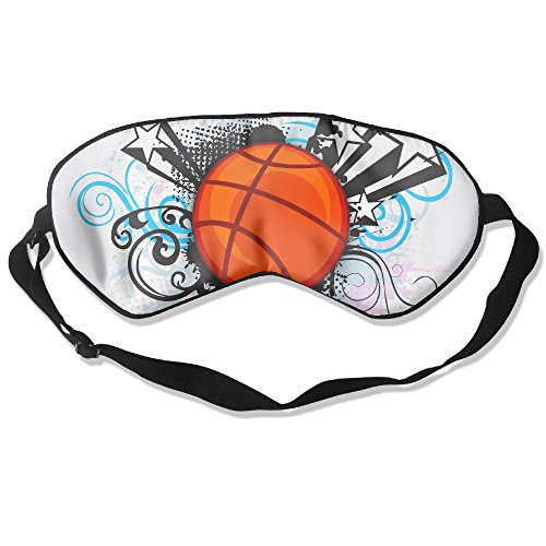 Sleep Mask Sports Basketball Eye Cover Blackout Eye Masks,Soothing Puffy Eyes,Dark Circles,Stress,Breathable Blindfold by MB32