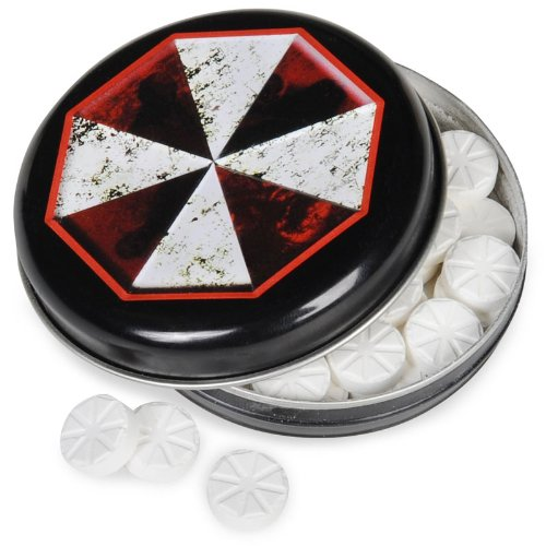 Resident Evil Candy Tin Umbrella Corporation Outbreak Mints]()