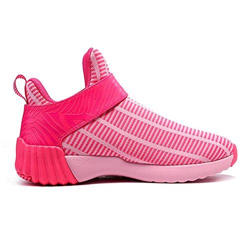 OneMix Men's and Women's Lightweight Air Cushion Sport Trail Running Shoes Pink t7D8eG7