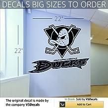 Wall Mural Vinyl Sticker Sports Logos Nhl-anaheim Mighty Duck (S507)