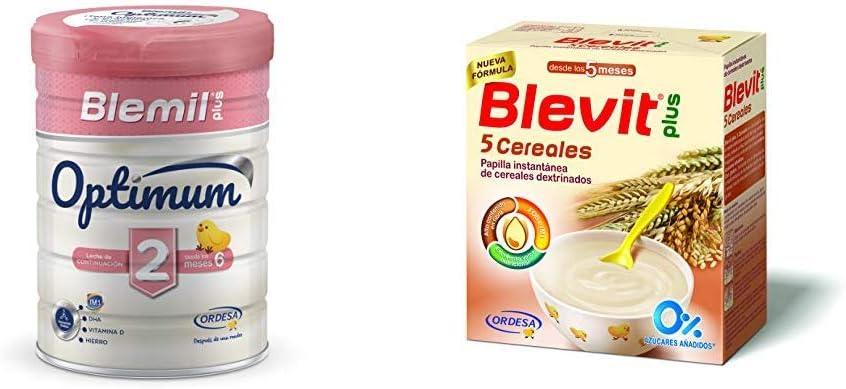 Blemil Plus Optimum 2, Leche de continuación para bebé - 800 ...